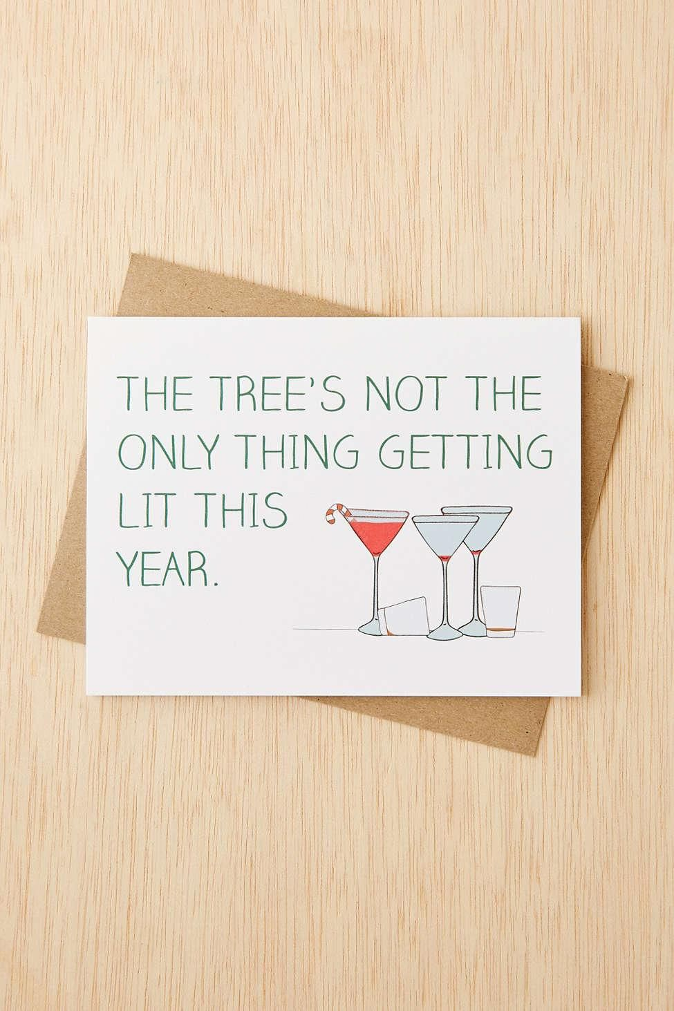 15 Witty Holiday Cards That Won\'t Make You Cringe | Holidays, Lights ...