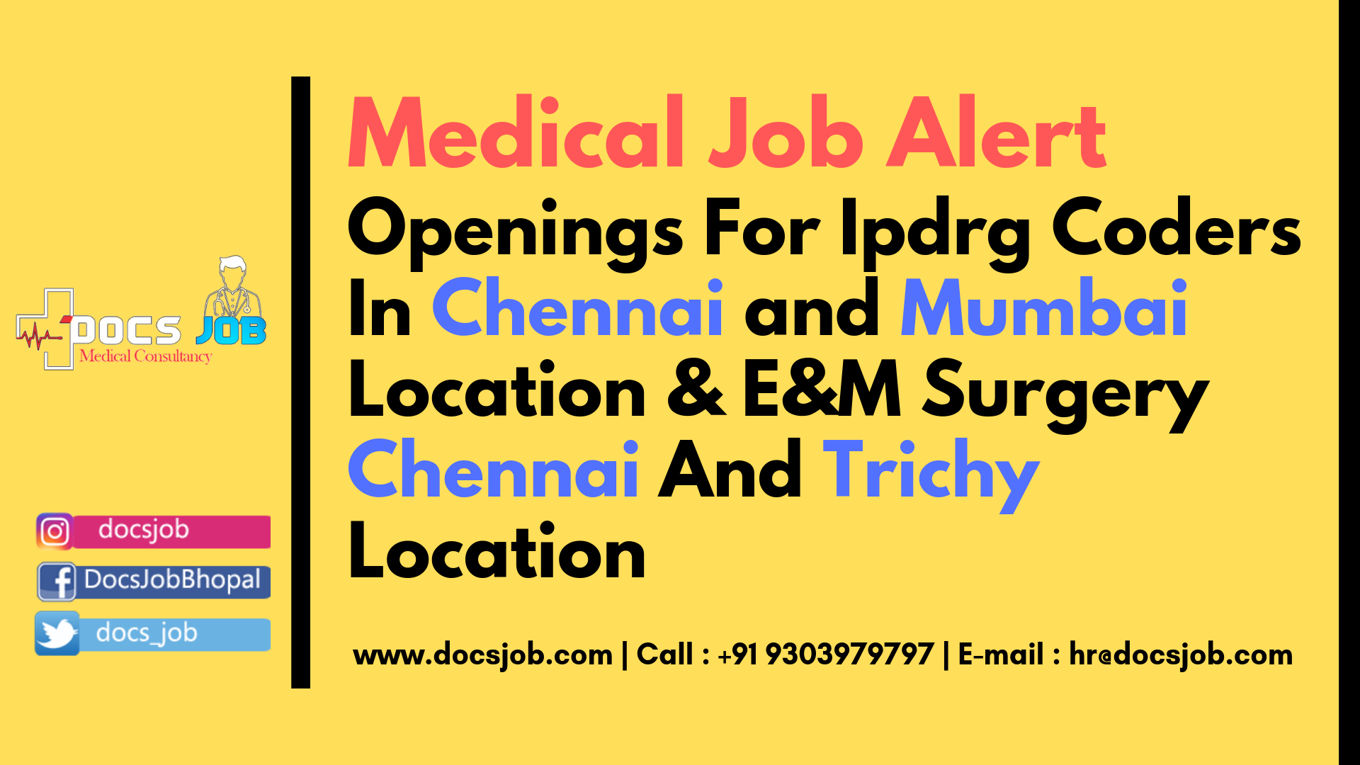 For More Detail or Contact For Free Job Alert Join Our