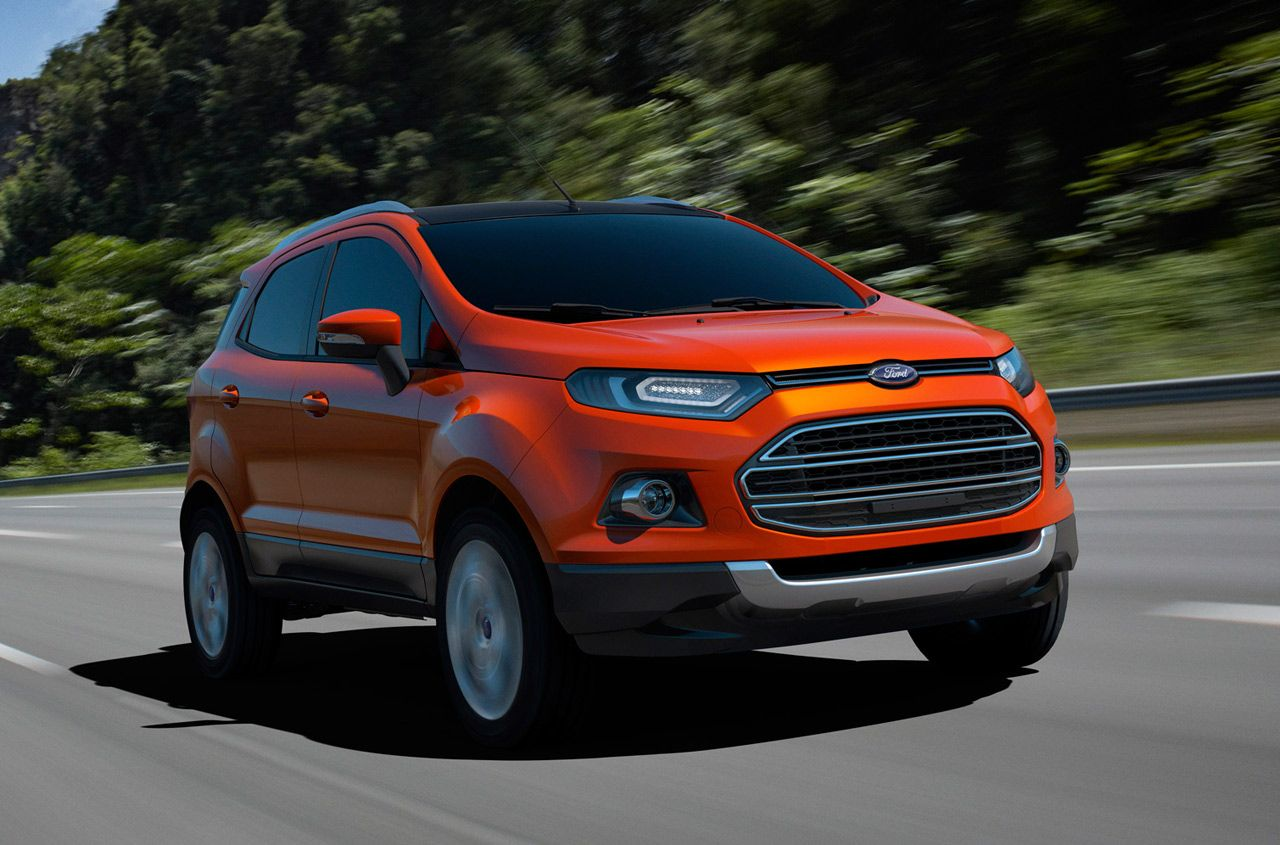 U S Has To Wait For Fuel Prices To Increase Before Getting Their Own Ford Ecosport Ford Ecosport Upcoming Cars Car