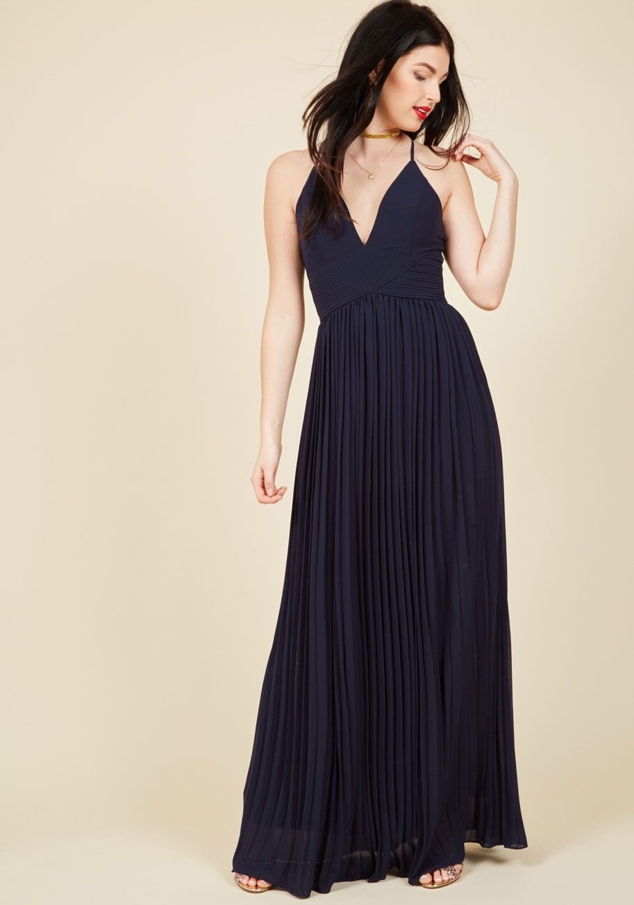 Beautifully By Your Side Maxi Dress In Midnight Blue Maxi Dress Dresses Grey Maxi Dress [ 1304 x 913 Pixel ]