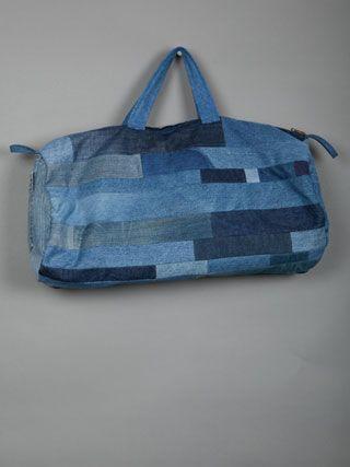 VIER5  Patchwork Jeansbag