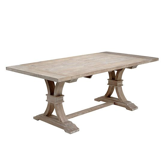 Archer Wash Oak Extending Dining Table Extendable Dining