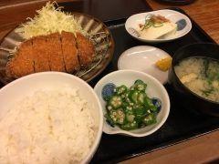 福岡市中央区にあるわっぱ食堂にて一人ランチトンカツ定食を食べました美味しかったー15時までは790円でお得なランチセットがありますこのトンカツ定食も790円でした tags[福岡県]