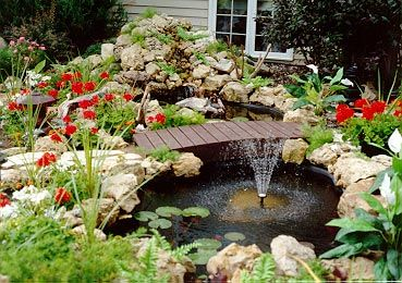 how to build ponds with preformed watercourse | ... your ...