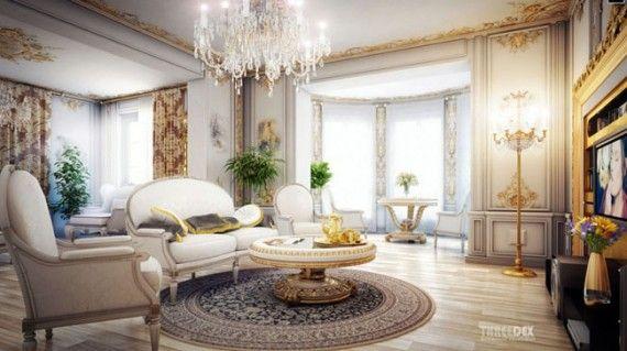 The Luxury Living Room Design Of Opulent Victorian Gentleman's Alluring Luxury Living Room Design Ideas 2018