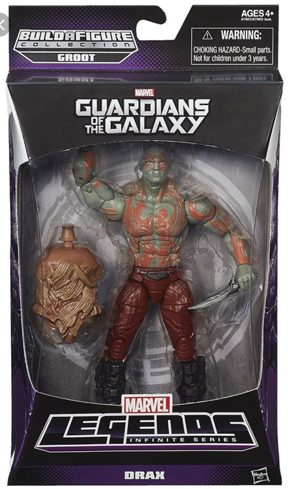 Guardians Of The Galaxy Easter Basket Party Favors Pack Groot Action Figure Set