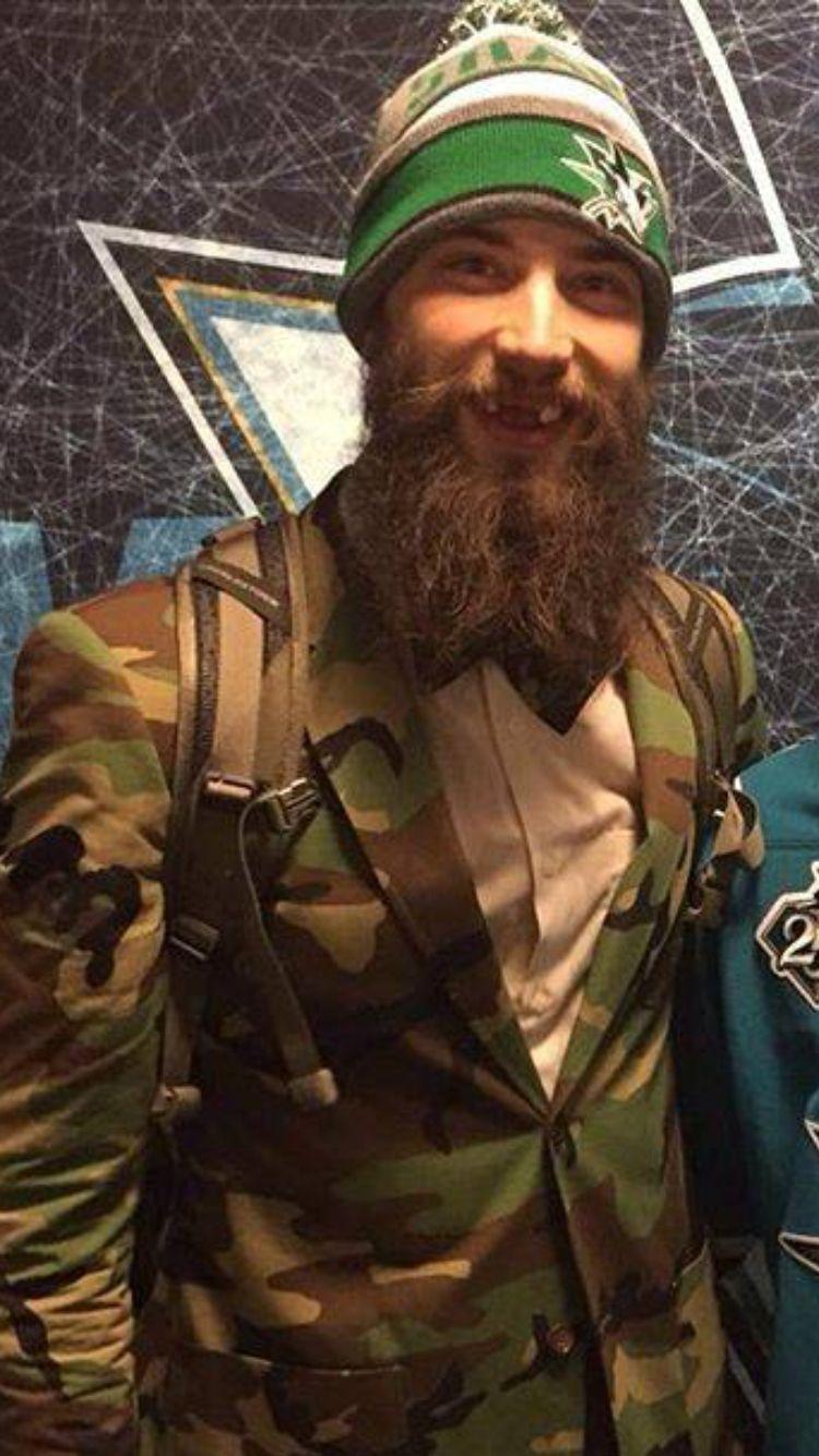 official photos f93f4 e1866 Brent Burns #beards #beardstyle #nhl | San Jose Sharks ...