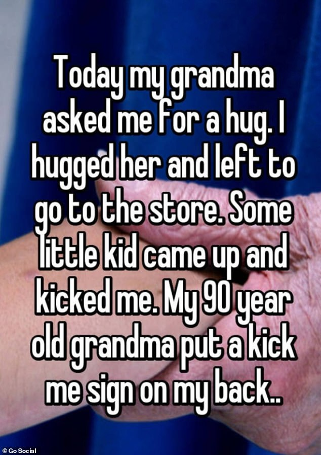 People share their grandmothers' most savage moments
