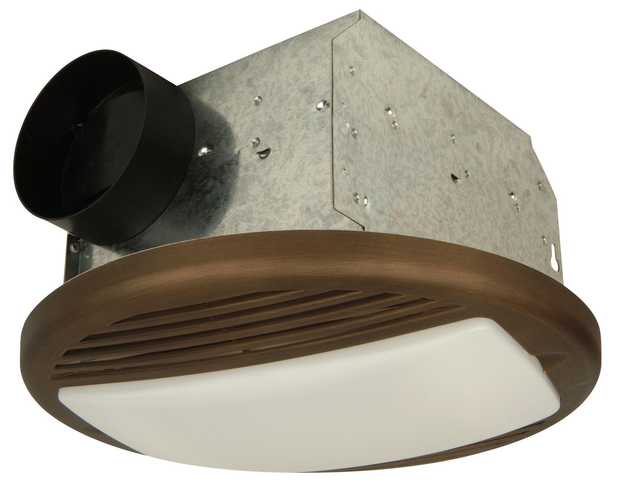 Round Bathroom Ventilation Fan In