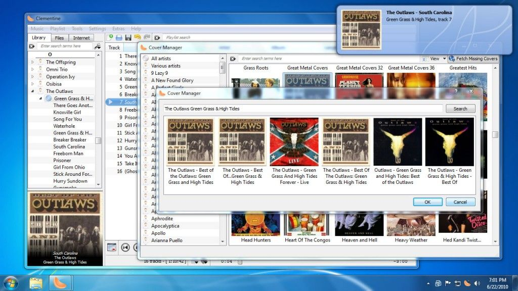 A Free Multiplatform Modern Music Player And Music Library