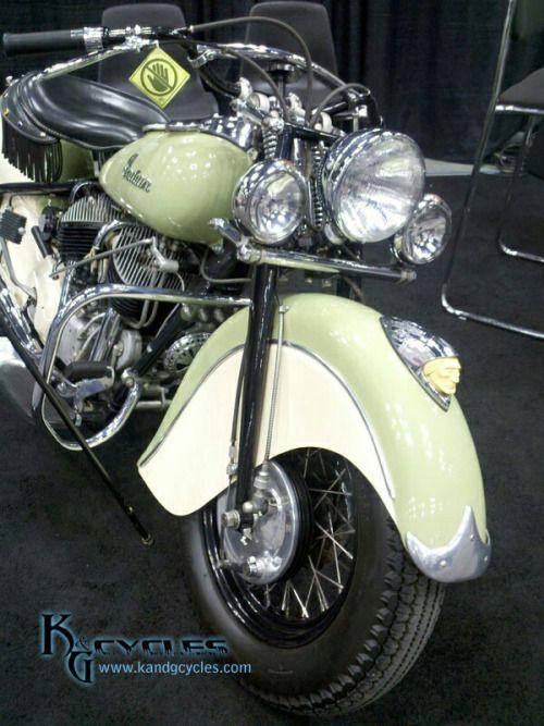 1948 indian | Motos clasicas, Motos retro, Motocicletas indian