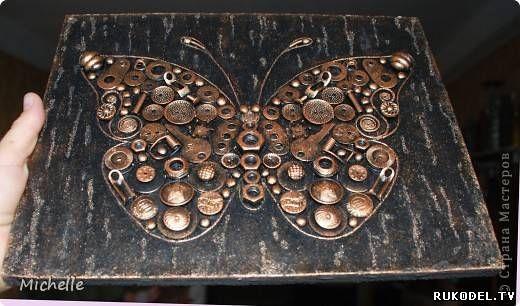 фото поделки из гвоздей