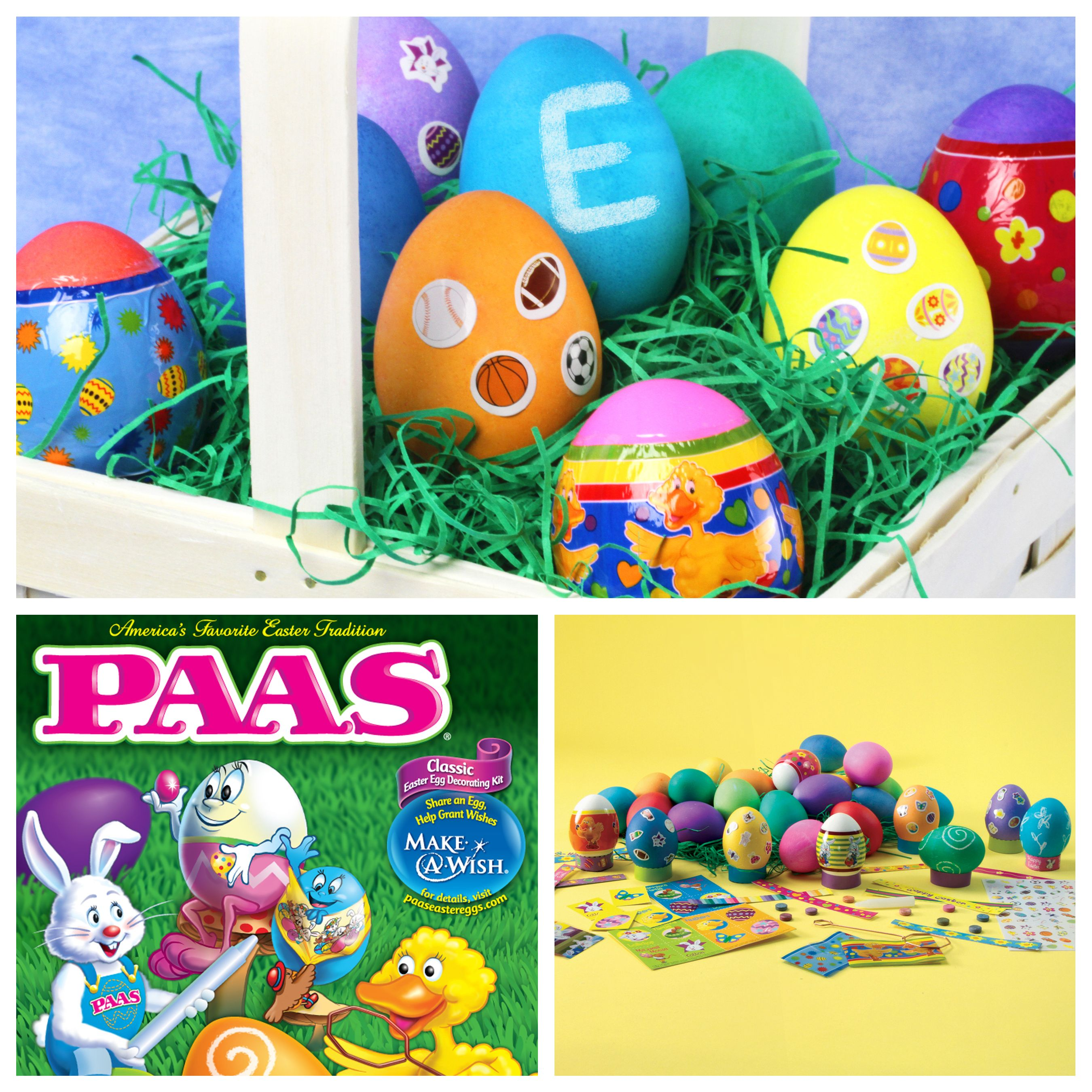 Large Friends Easter egg decorating kit from PAAS Egg