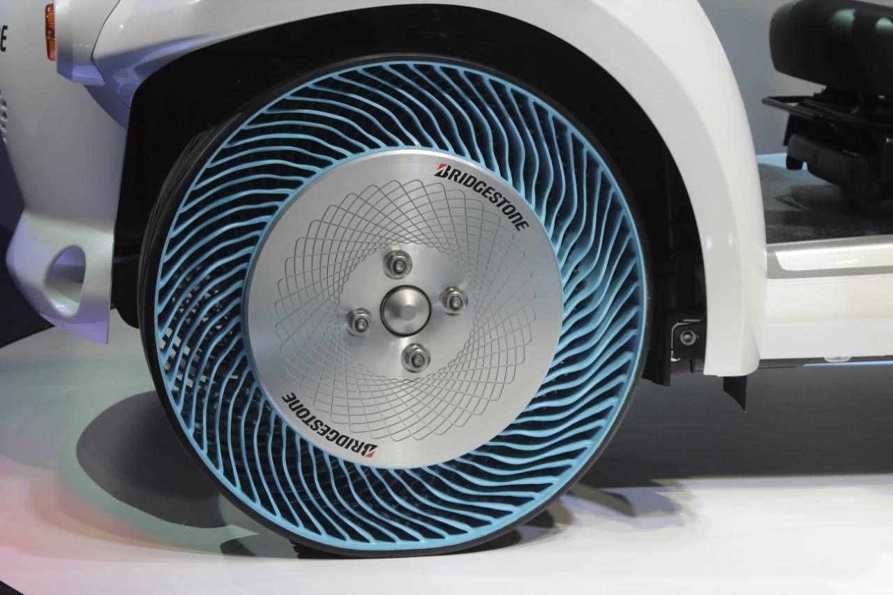Bridgestone s airless tyre is tweel y great