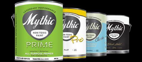 Paints non-toxic interior latex