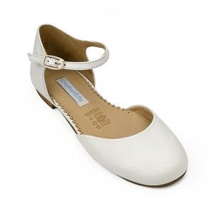 73.00 Ballet Flat - Leather White