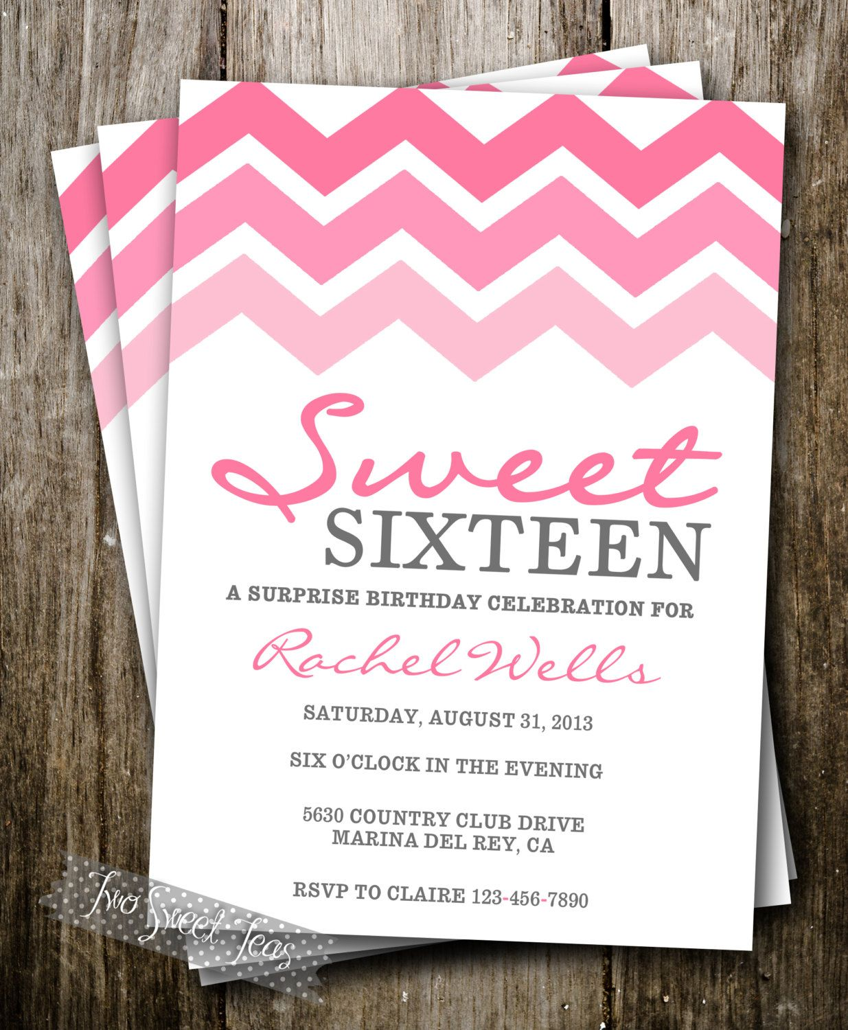 Tween Birthday Party Invitations Tween holiday party invitation ...