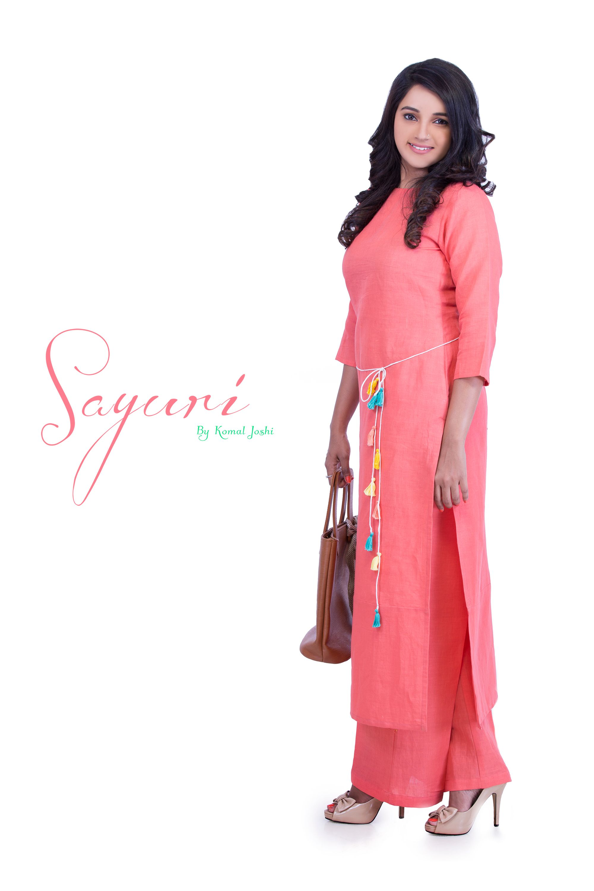 a2e24cb1304 Cotton Linen kurta with straight cotton linen pants. Find this Pin and more  on Sayuri Design Studio ...