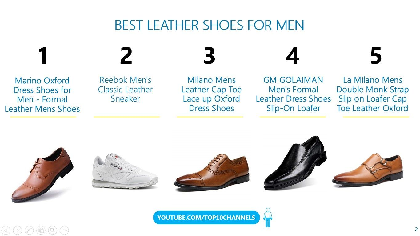 Top 10 Best Leather Shoes For Men