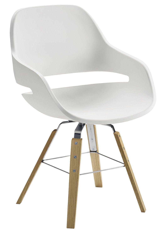 Billig Moderner Stuhl Weiß