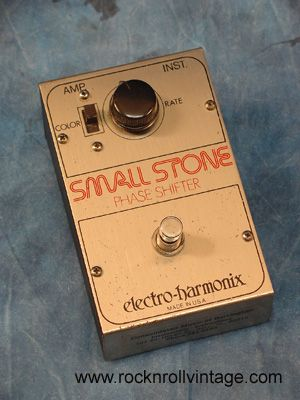 electro harmonix small stone phase shifter still use this for recording guitar effects pedals. Black Bedroom Furniture Sets. Home Design Ideas