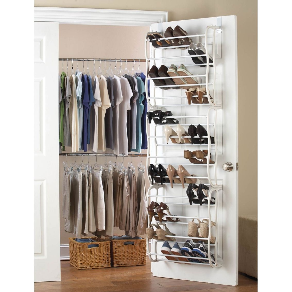 Closet Door Shoe Storage