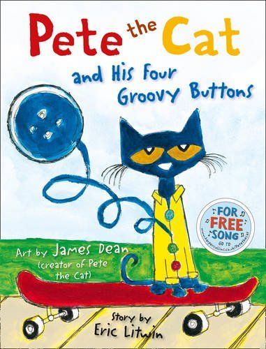 Pete the Cat and his Four Groovy Buttons by Eric Litwin http://www.amazon.co.uk/dp/0007553676/ref=cm_sw_r_pi_dp_p0Ibxb0B17948