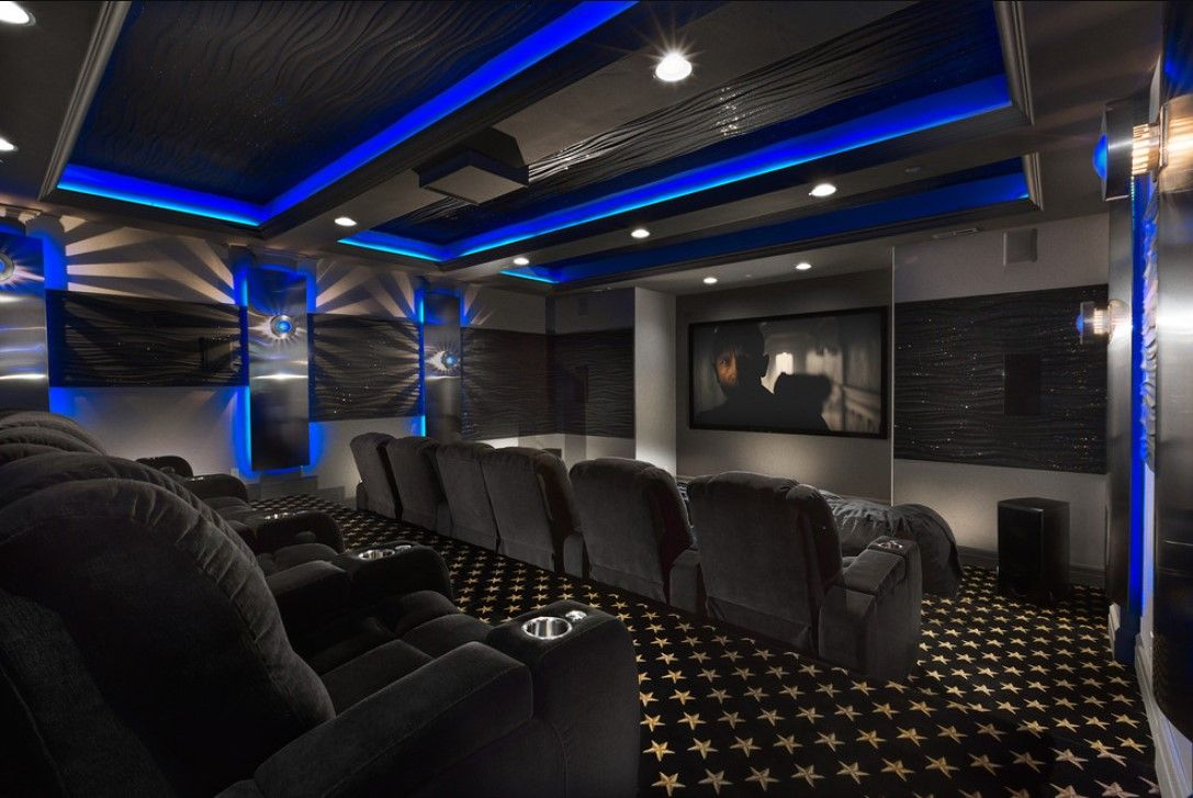 2019 Best Media Room Ideas #mediarooms