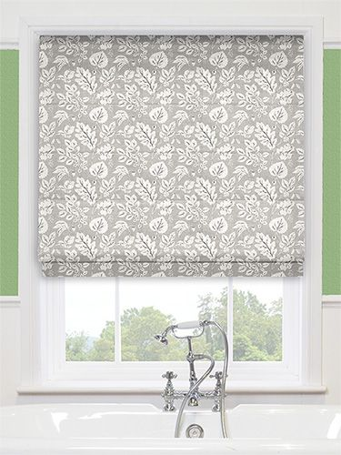 Leighton Paloma Grey Roman Blind From Blinds 2go Grey