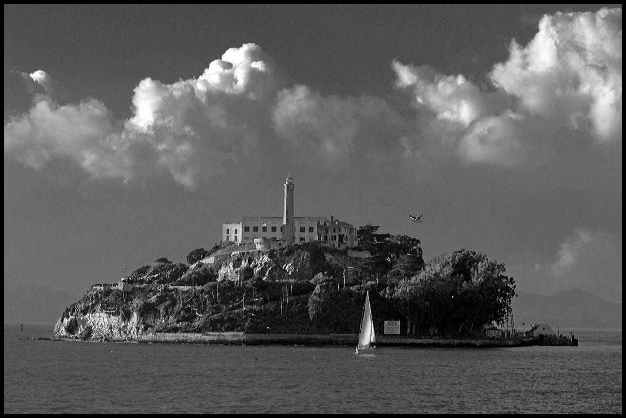 Alcatraz island prison, San francisco California