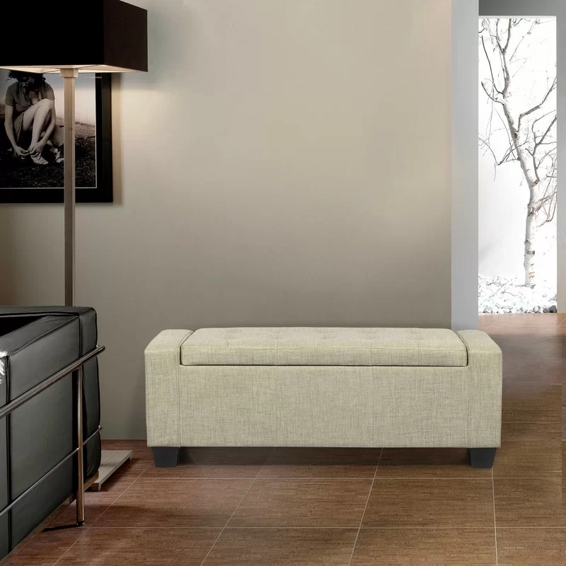 Stretton Flip Top Storage Bench In 2020 Storage Bench