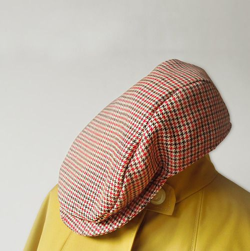 Free Sewing Pattern Newsboy Cap Waffle Patterns Pdf Sewing
