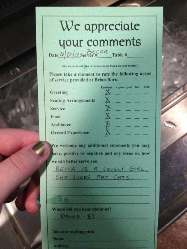13 Hilarious And Sassy Examples Of Customer Feedback