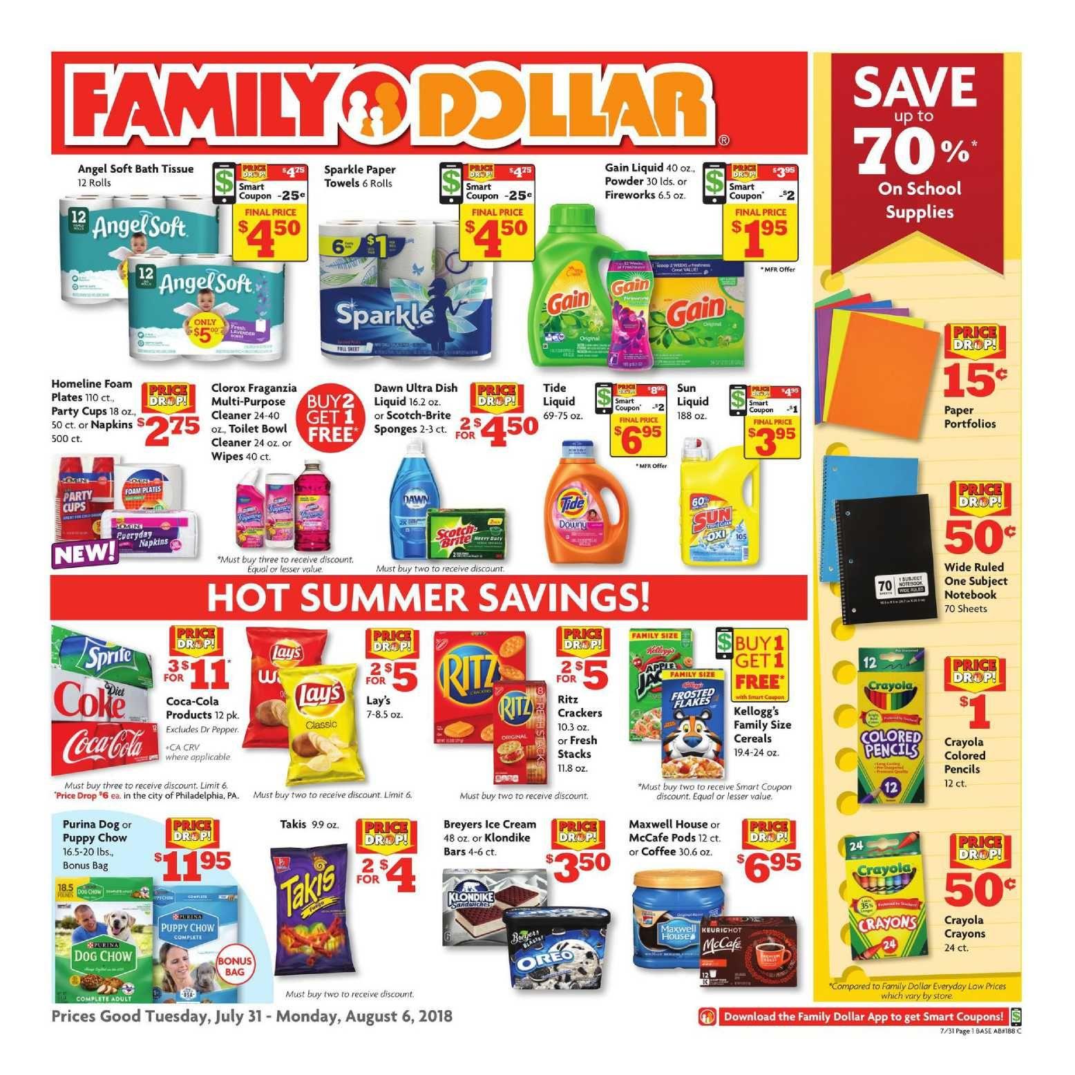 Family Dollar Weekly Ad Flyer December 31 2018 January 29 2019 Weeklyad123 Com Weekly Ad Circular Grocery Stores Family Dollar Weekly Ads Flyer