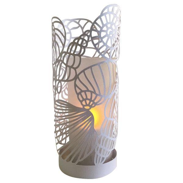 Sea Shells Papercut Lantern