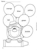 fichas numeros en ingles para niños - Buscar con Google