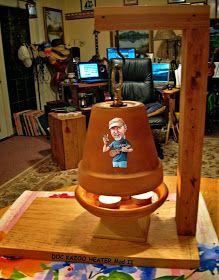 Pinterest & Flower pot heater this is the safest design I have found ...