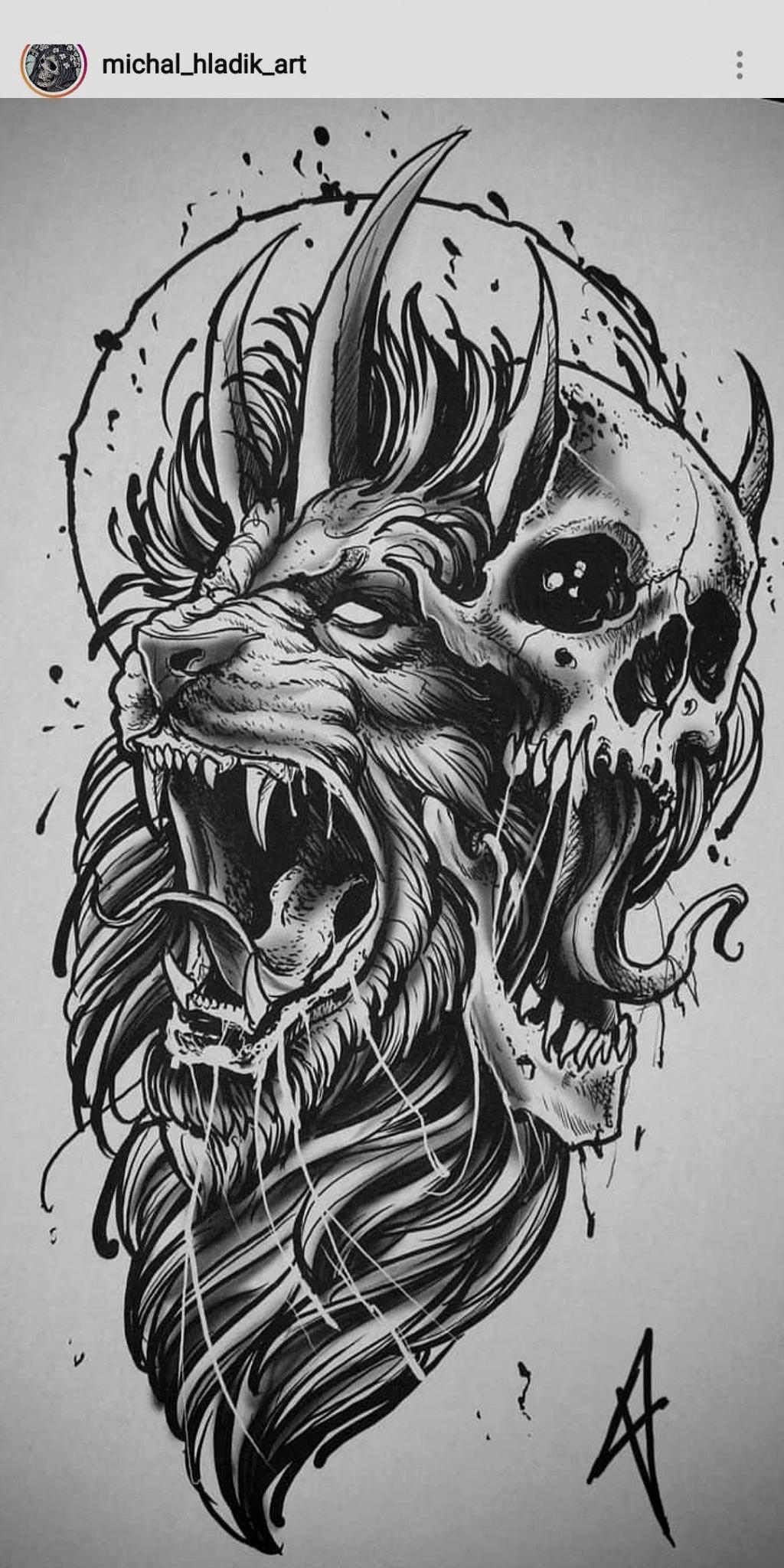 Randy Orton Tattoos Artist In 2020 Tattoo Style Drawings Tattoo Design Drawings Skull Tattoo Design