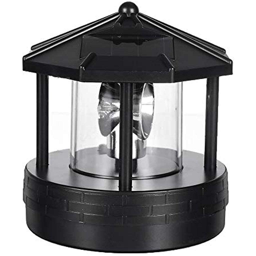 Cutogain Solar Led Rotierenden Leuchtturm Licht Garten Hof Rasen Lampe Beleuchtung Outdoor Home Decor Beleuchtung Innenbel Led Innenbeleuchtung Solarleuchten