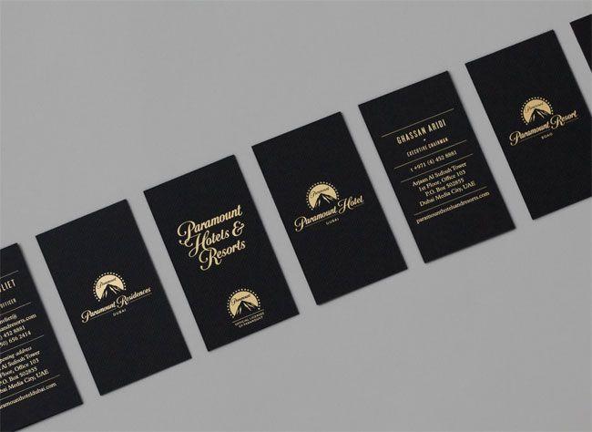 Paramount hotels resorts paramount hotel business cards and paramount hotels resorts luxury business cardsunique colourmoves