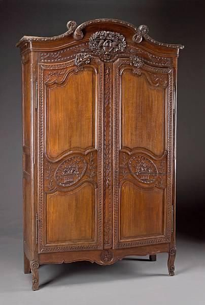 louis xv armoire. Black Bedroom Furniture Sets. Home Design Ideas