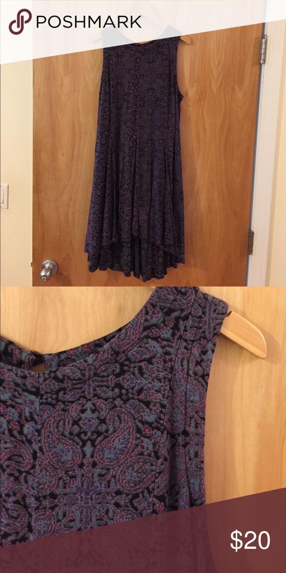Ecote Paisley Printed Dress Ecote Printed Handkerchief