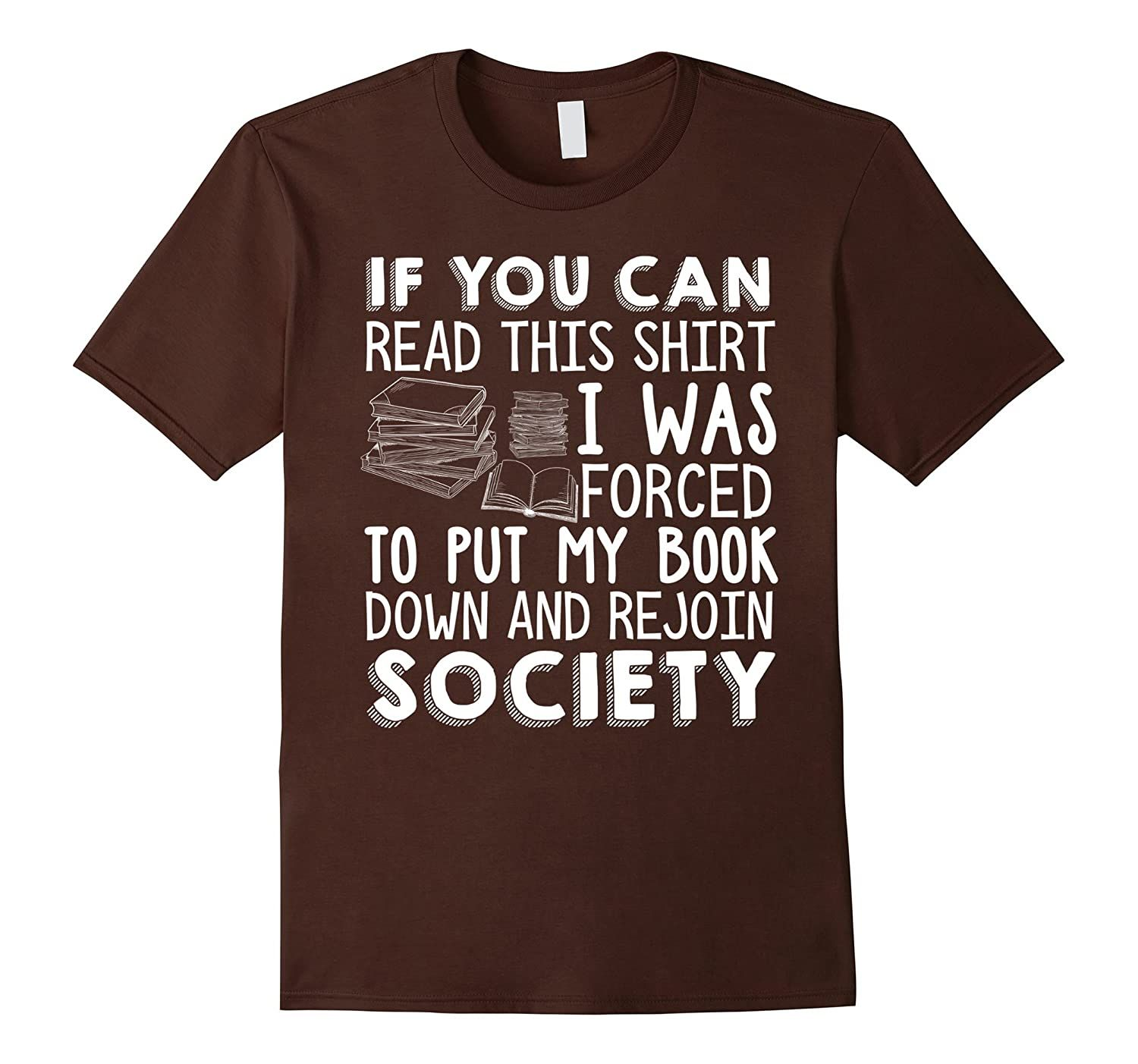 If You Can Read This Book Lovers Novel Reading Funny T Shirt-alottee Gift
