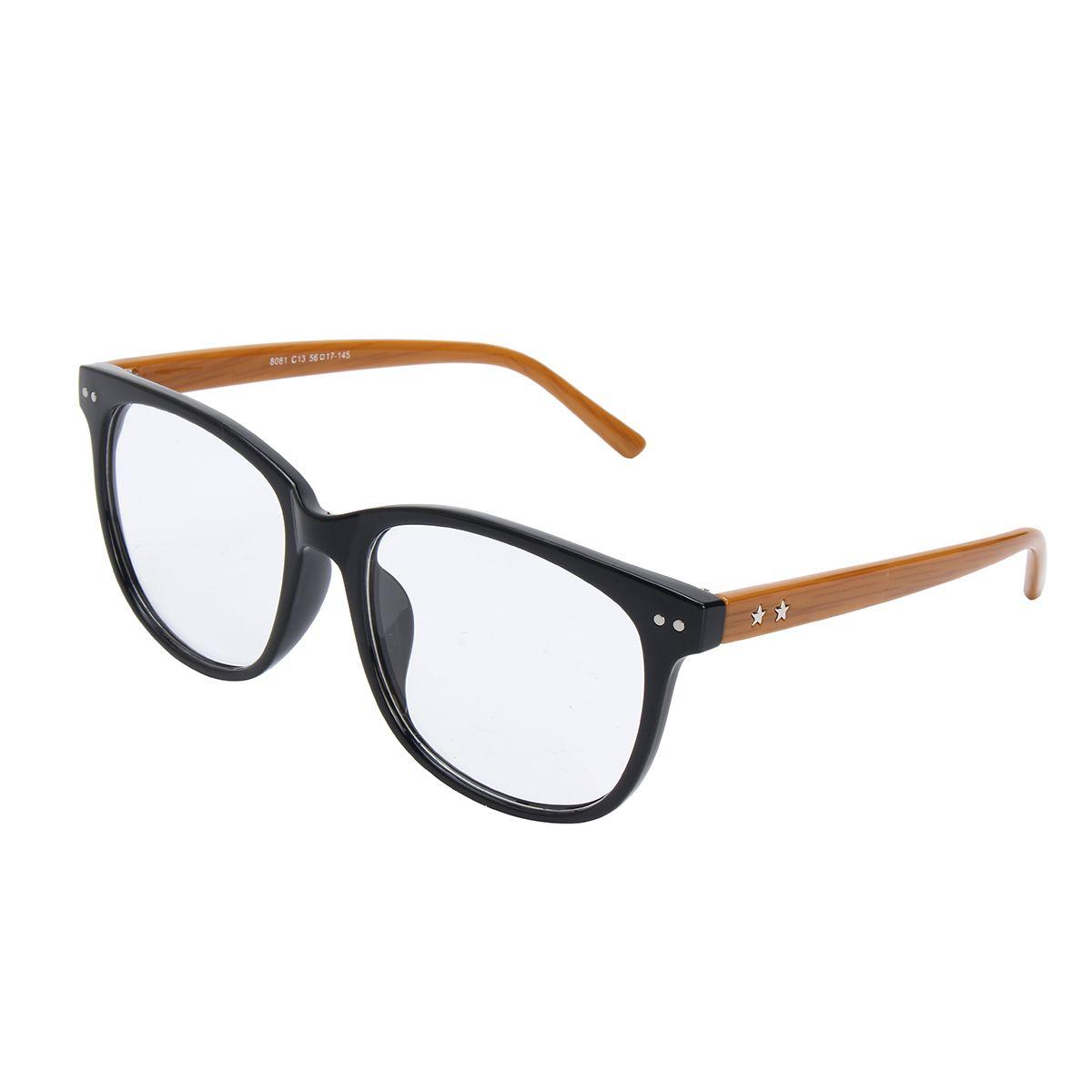 Anteojos de gafas de moda Marcos de borde completo Hombres Mujer ...