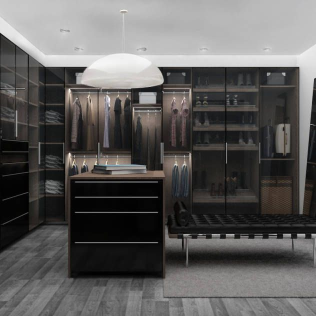 Vestidores y cl sets ideas dise os e im genes dise o for Diseno de interiores closets modernos