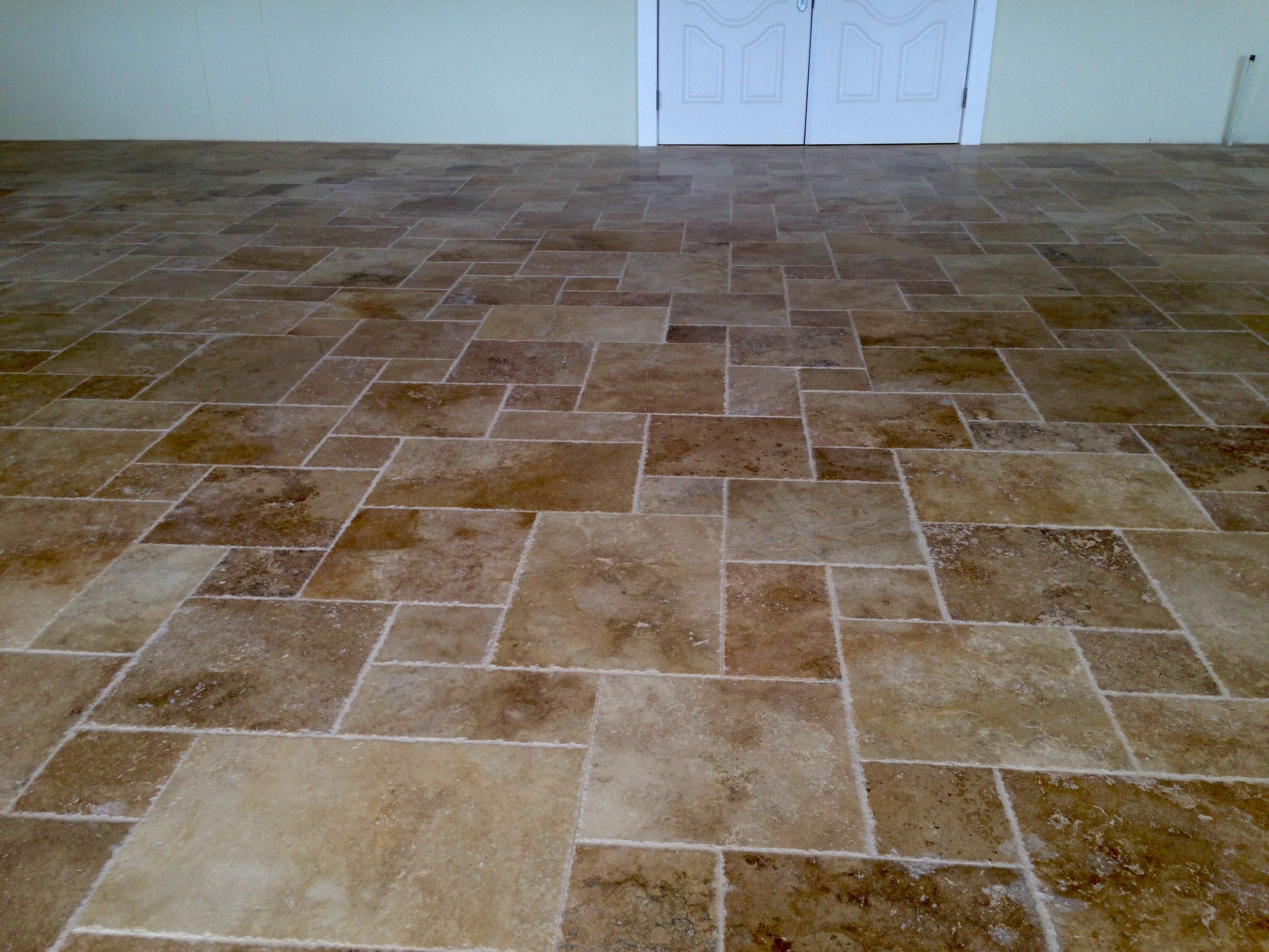 Country Classic French Pattern Brushed/Chiseled Tile www.stone-mart ...