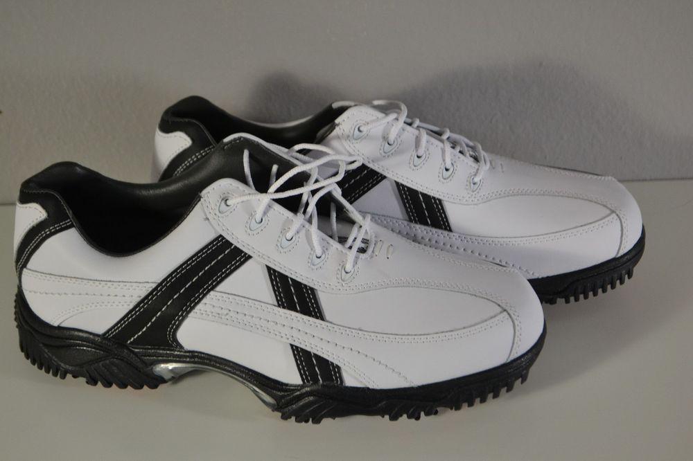 NEW FootJoy Contour Men's Golf Sport Elegant Shoes White