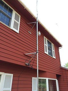 Diy Push Up Antenna Mast Ham Radio Antenna Ham Radio Radio Antenna