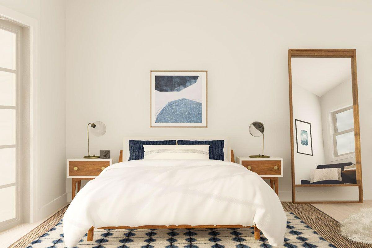 Best Smart Layout Ideas For An Awkward Shaped Bedroom Modern 400 x 300