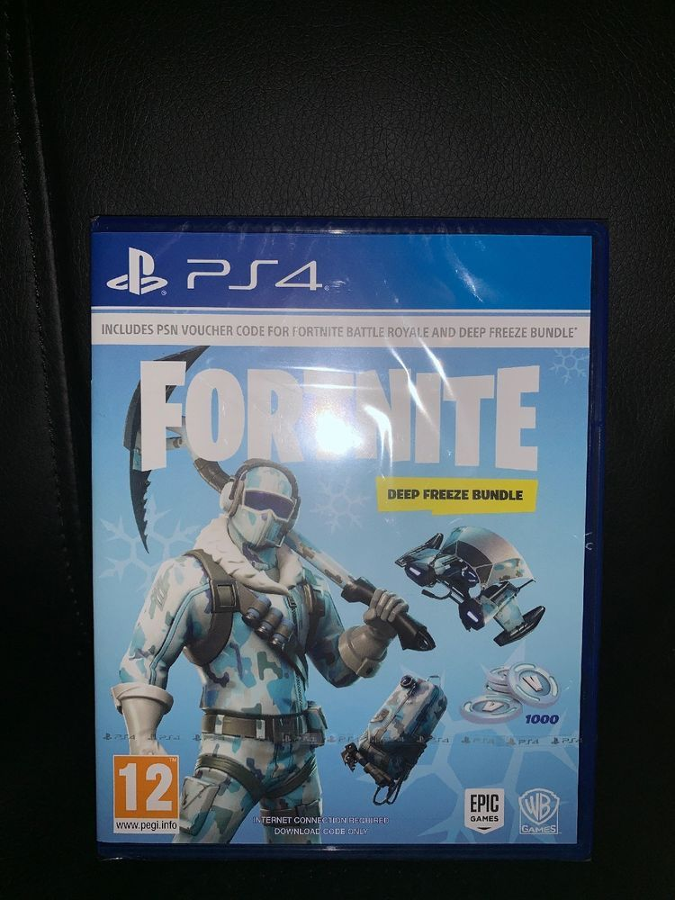 Fortnite Deep Freeze Bundle Ps4 1000 V Bucks Special Deal Psn
